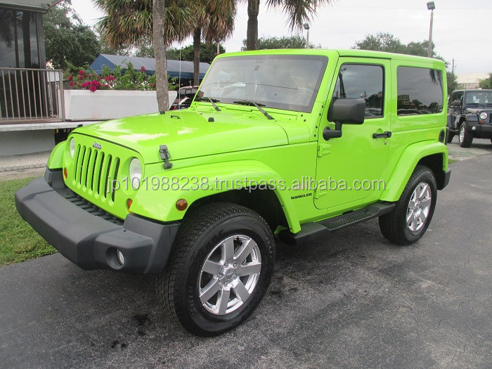 USED CARS - JEEP WRANGLER SAHARA - DEMO VEHICLE (LHD 819485)
