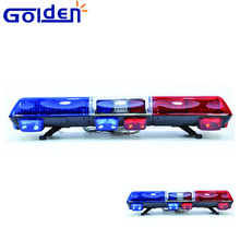 Vehicle warning police highway hawk emergency strobe light bar with speaker for car
