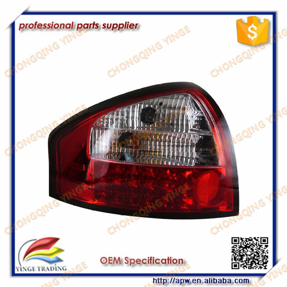 2005 To 2008 Year Rear Lamp For Audi A6 Lighting Led Red White Black Smoke Color