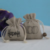 Durable Mini Drawstring Jute Money Bags Wholesale