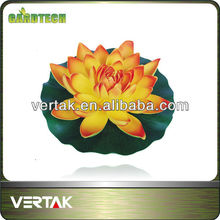Eva lotus, floating water lily, articial lotus flower