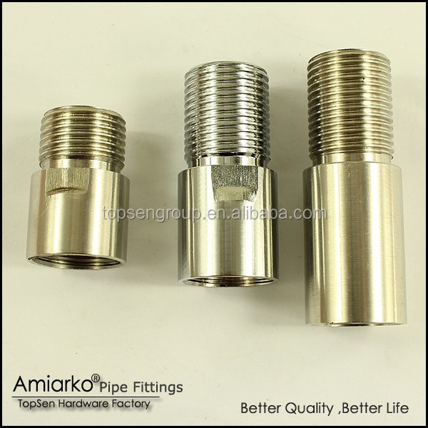 high grade stainless steel extension pipe nipple