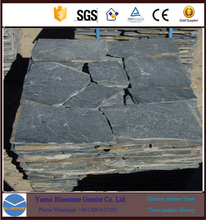 Natural Chinese multicolor flagstone mesh stone tile grey slate
