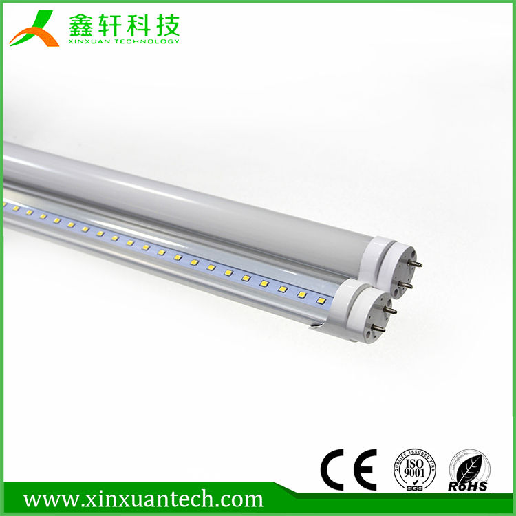Internal Driver SMD2835 4ft t8 led tubes 1200mm 18w