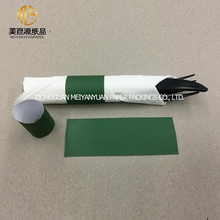 Environmental green decorative fold paper napkin bands for restaurant table