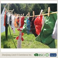 LC D-019 free sample china reusable AI2 bulk organic baby cloth diaper / premium cloth baby diapers
