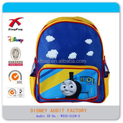 Nylon child bag Thomas children bags boy's kids school backpack