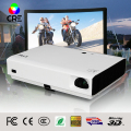 Factory Price Full High Definition HD 1080P DLP 3LED Projector portable mini short throw 3D Projector Support OEM