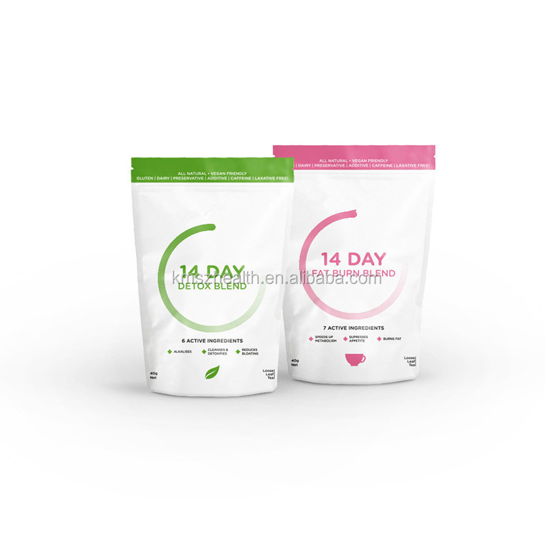 Private Label Service 28 Day Slimming TeaTox Morning Weight Loss Tea