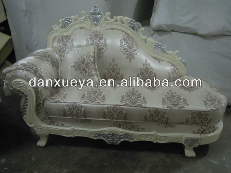 oak solid wood fabric antique comfortable chinese furniture danxueya-3048E#