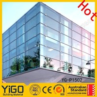 Structural Frameless Glass Curtain Wall With