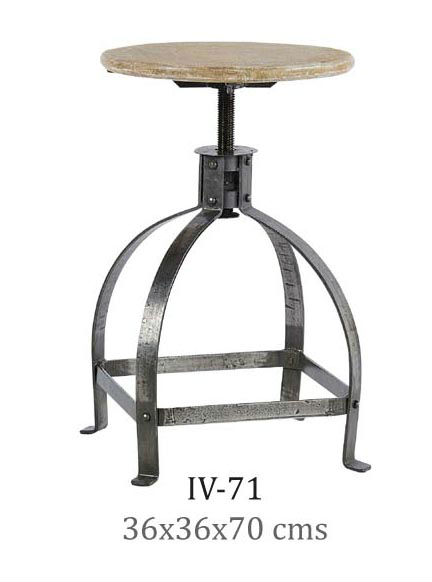 Industrial Style Stool Furniture, Best for Bar, Restaurant & Home