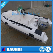 NEW model 11.8ft 5 person small fiberglass yacht made in china