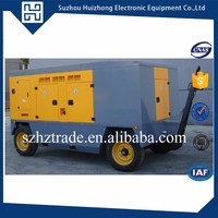 Powered by volvo magnet generator 250kva set