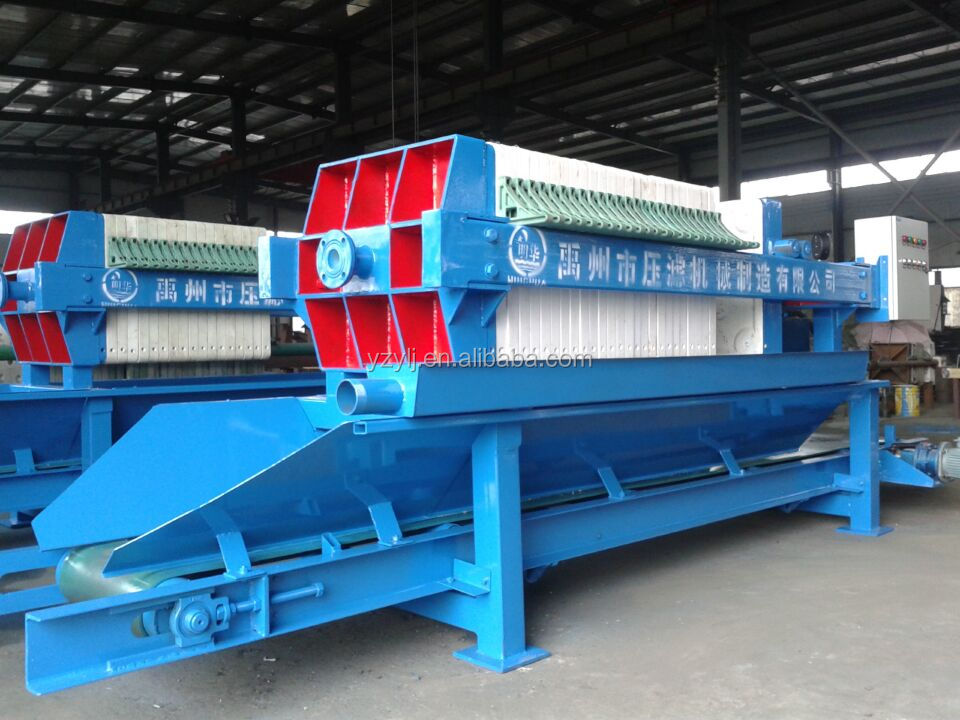 630 Coal Slurry Dewatering Machine, Plate and Frame Filter Press