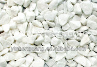 Natural aggregate gravel crushed stone