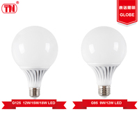 New type g105 g95 LED lighting bulbs 9w 15w 18w e27 Plastic Aluminum
