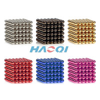 bright nickel red blue green black goden silver colorful 216 magnetic ball neo strong NdFeB Magnet hover ball