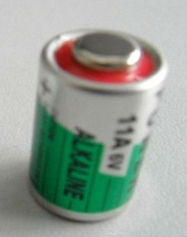 0% Hg 6V Alkaline Battery 11A