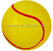 PU material tennis ball/promotional toy style tennis ball/playing tennis ball for adults and kids