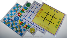 7 in 1 family magnetic game on snakes & ladders/chess/ludo/backgammon/tic tac toe/checkers/nine men`s morris