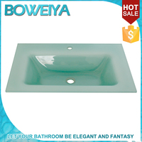 Buy Intelligent Light Green Spanish Glass Undermount Sink