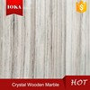 China Antique Crystal Wooden Marble With Beautiful Straight Veins