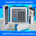 Mobile phone approach door access control solutions