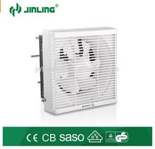 High quality Window wall Mounted Auto Shutter 6 inch ventilation exhaust fan