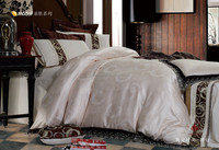 luxury modal jacquard printed bedding set jacquard serise brand name bed sheets