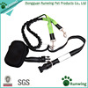 Pet Dog Training Leash Hands Free, Reflective Hands Free Leash with Pouch 6ft