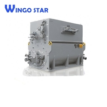 high voltage electric motor with reduction gear