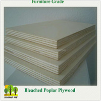 2.5mm Thin Tickness Commerical Plywood Poplar Faced