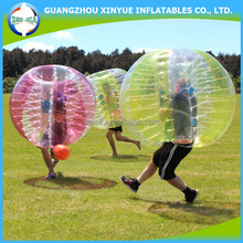 Most popular PVC/TPU inflatable 1.2m human bumper ball