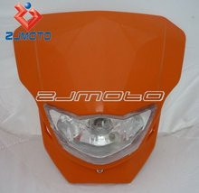 Dirt bike Motorcycle Colorful Universal Vision Headlight 7 Colors To Choose Light Your Smart World And Make You Unique