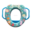 Children safety baby protection toilet seat new style lovely kids toilet portable potty seat with handle