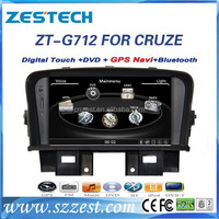 For Chevrolet cruze accessories car dvd with Win ce OS, A8 chipset, 2din 7 inch, GPS, BT, Radio, Audio, SWC, DTV, ATV, 3G, Wifi,