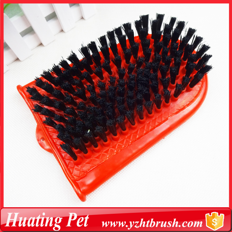 China wholesale useful pet grooming products plastic horse hair brush