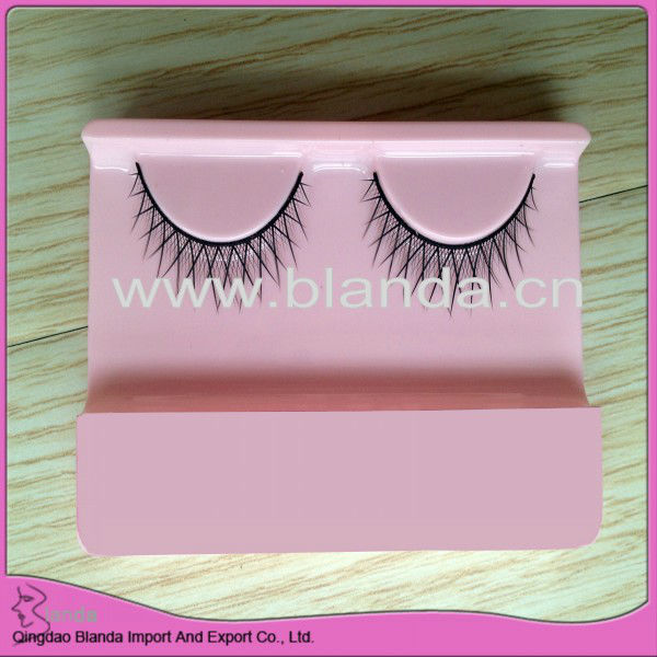 synthetic strip eyelash with star