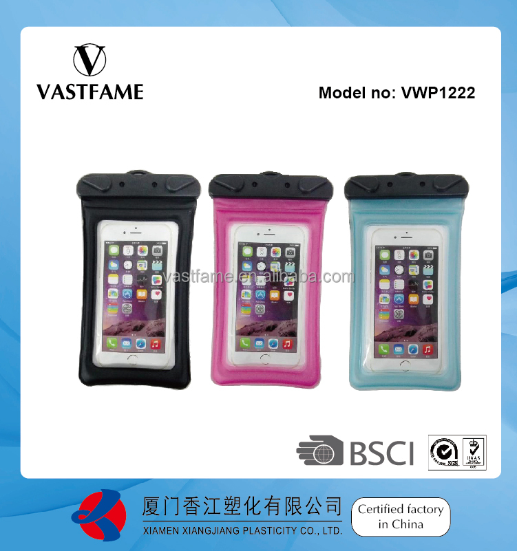 Floating Waterproof Bag for iphone 4s/5s/6/plus, Samsung galaxy s3/s4/s5/note