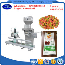 semi-automatic Printed Nylon pet food packaging bag production line,Digital Printing Pet Dog Food Packaging Bag