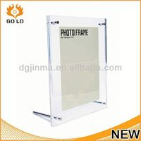dongguan supplier photo frame stand,scroll photo frame,soft pvc picture frame