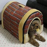 New product Hot selling cheap custom portable soft unpick wash indoor pet dog house