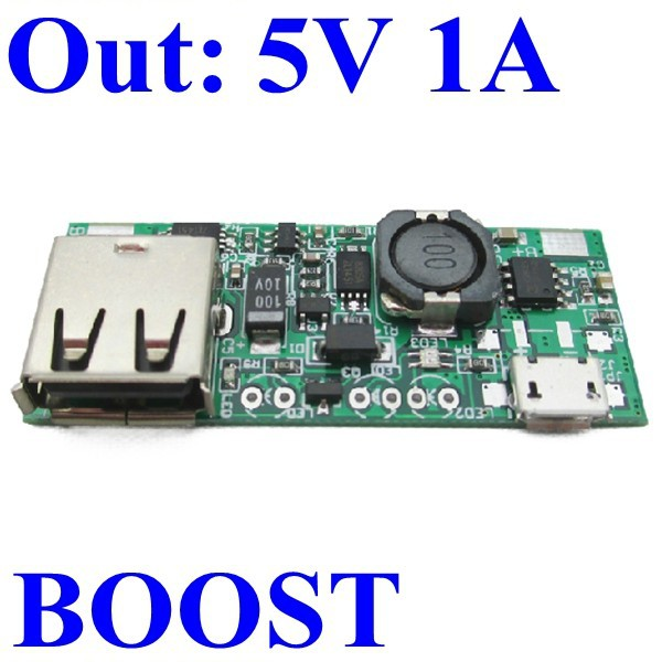 power bank printed circuit board mobile usb charger pcb 3.7v 5v output 5v 1000ma 1a boost step up converter module for nokia etc