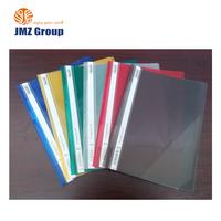 new collection promotional plastic file folder with fastener