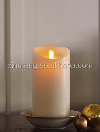 simulated led candle with flameless Led candle