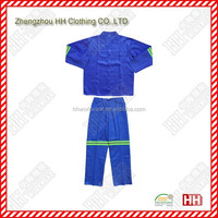 woven reflective tape 2 pieces overalls