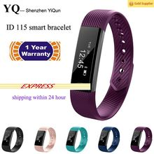 Bluetooth Smart Fitness Band, Large Screen Smart Band, Pedometer, Sleep Monitor ID115 Veryfit Fitness Band