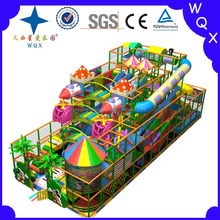 Children's Amusement park ride indoor soft play game equipment China supplier