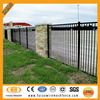 2014 ISO9001 decorative boundary steel welded fencing